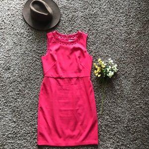 NWOT Ann Taylor LOFT Laser Cut Sheath Dress
